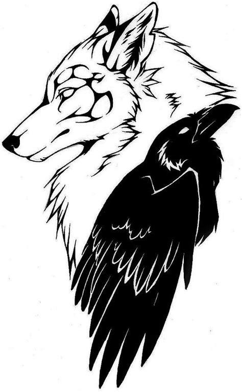 Celtic Raven Tattoo Design