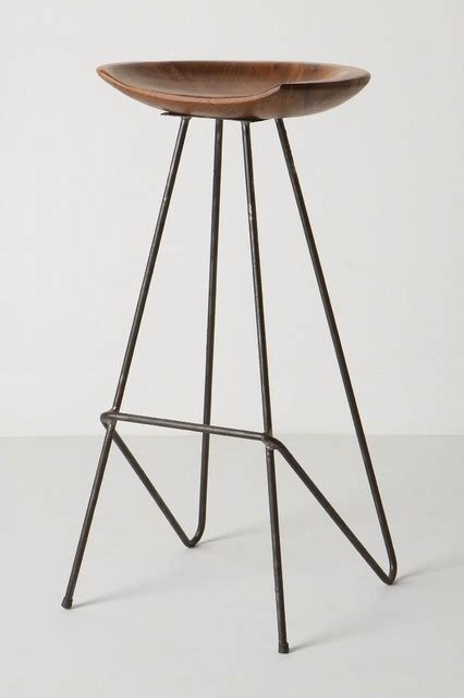 Perch Bar Stool by Perch Barstool Anthropologie Industrial Bar Stools