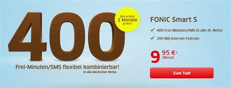 monate gratis fonic smart  tarif jetzt nutzen