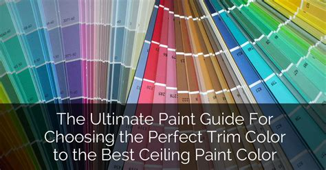 the ultimate paint guide for choosing the perfect trim