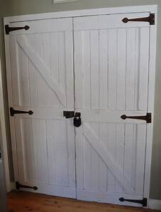 closet door ideas that add style and character With barn door look closet doors