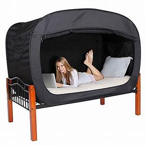 Buy Privacy Pop Twin Bed Tent in Black from Bed Bath & Beyond