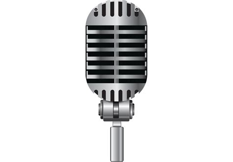Free Microphone Vector