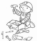 Tools Coloring Pages Hand Drawing Getdrawings sketch template