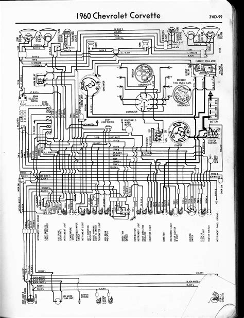 1958 Impala Wiring Diagram by 57 65 Chevy Wiring Diagrams