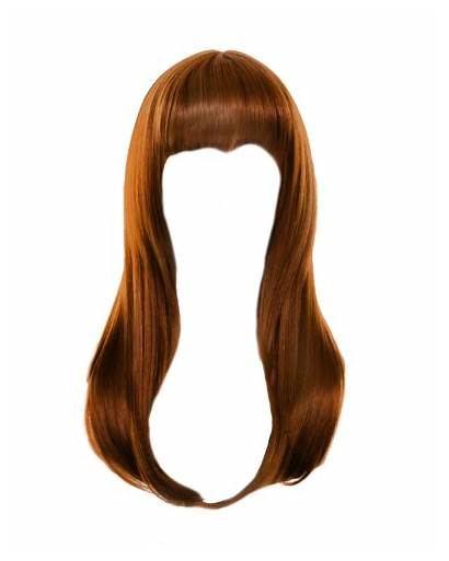 Hair Straight Hairstyles Transparent Brown Clipart Wavy