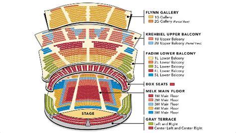 Morton H Meyerson Symphony Center Seating Chart