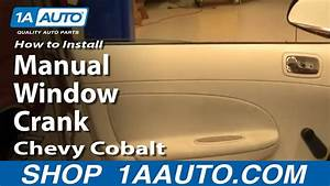 How To Replace Manual Window Crank 05