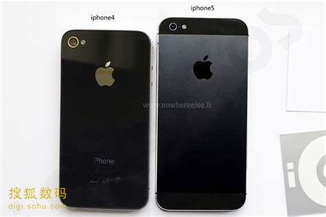iphone 4 size assembled iphone 5 vs iphone 4 size compared in new photos