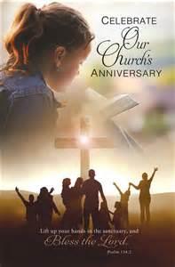 Black Church Anniversary Bulletin Covers
