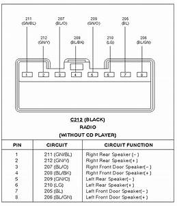 1995 Ford Probe Radio Wiring Diagram
