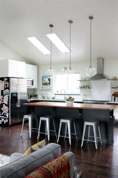 lights for vaulted ceilings kitchen house tweaking 9027