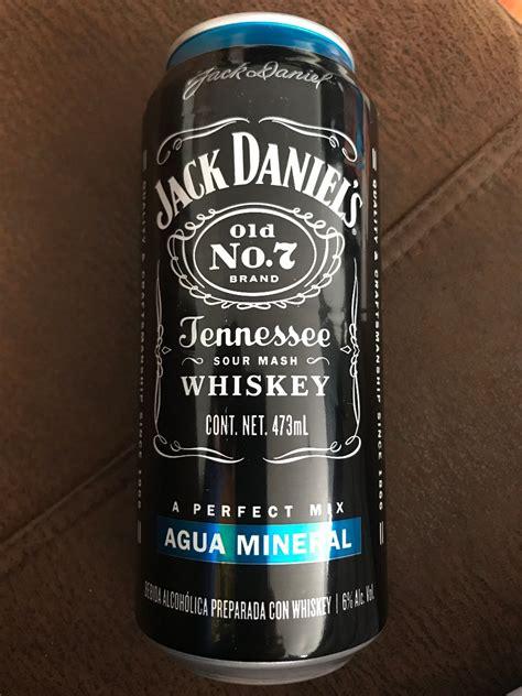 whisky jack daniels lata ml agua mineral  en mercado libre