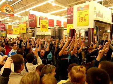 flash mob castorama chalon sur saone