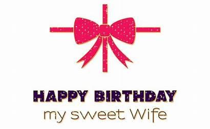 Birthday Wife Sweet Wishes Happy Animated Gifs