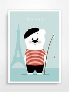 1000 idees a propos de dessin ours sur pinterest dessin With affiche chambre bébé avec fleuriste paris