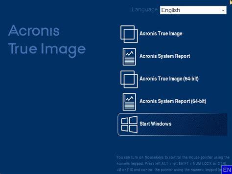 acronis true image  scaricare limmagine iso