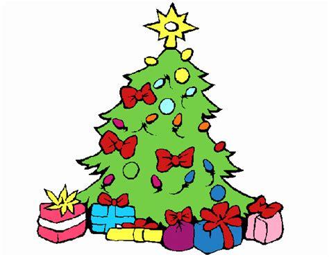 dibujo de 193 rbol de navidad pintado por en dibujos net el