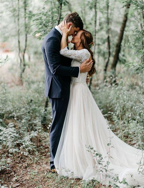 Enchanted Forest Wedding In Oklahoma Peyton + Colton