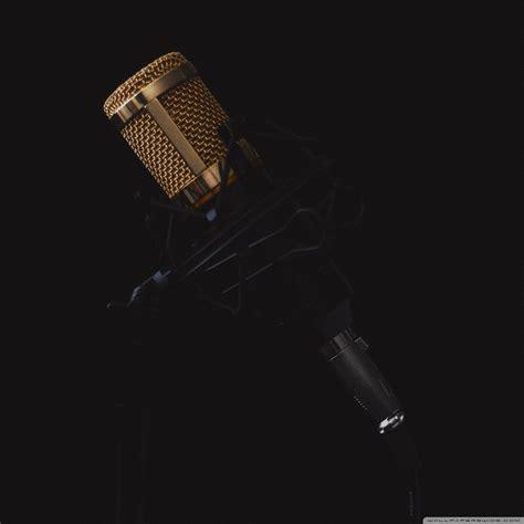 Microphone Ultra HD Desktop Background Wallpaper for 4K