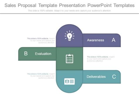 proposal  template business deal proposal powerpoint