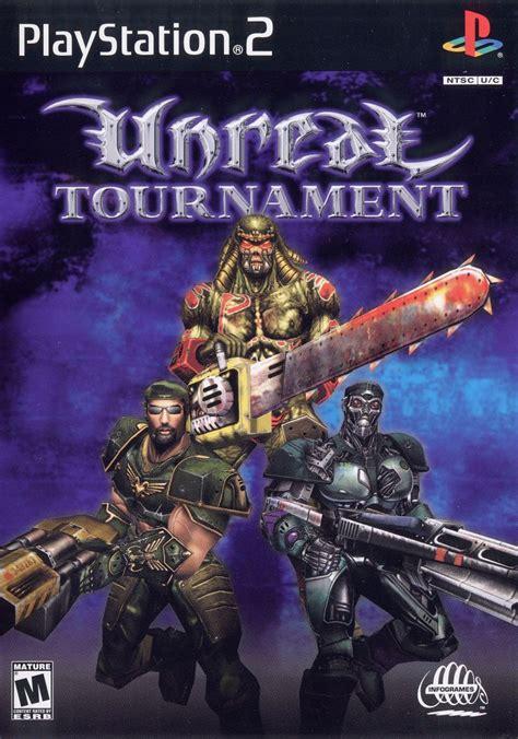 unreal tournament  playstation  box cover art