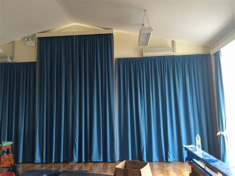 retardant curtains for schools colleges education