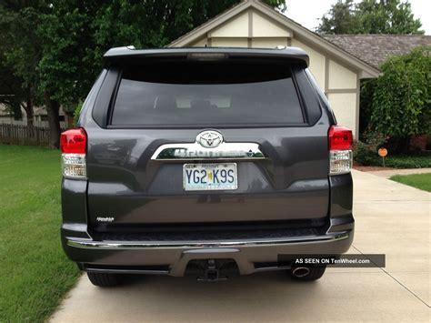 2013 Toyota 4x4 4runner Limited Suv Third Row Seating