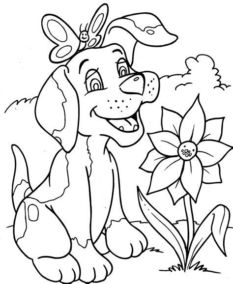 Domme Hond Kleurplaat by Kleurplaat Honden Kleurplaat 8869 Kleurplaten Dieren