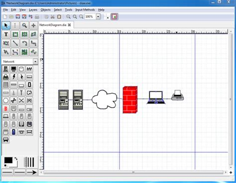 network diagram software mac visio