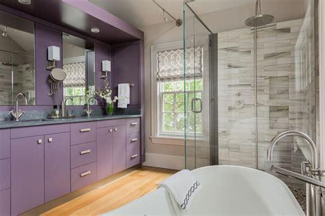 purple bathrooms     add  royal color