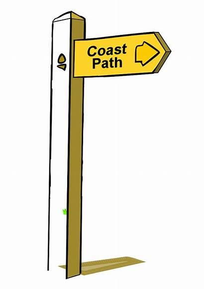 Clipart Sign Clip Poste Wooden Signpost Cartoon