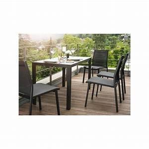 Jardin Et Balcon : ensemble table et chaise de jardin balcon de kettler ~ Premium-room.com Idées de Décoration