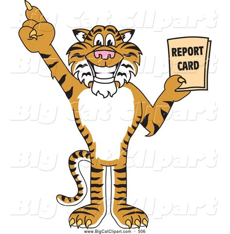 Image result for tiger holding report card clip art