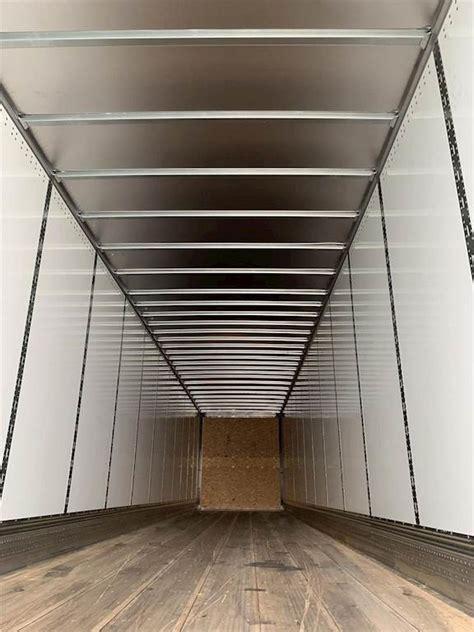 stoughton  plate dry van composite trailer dry van