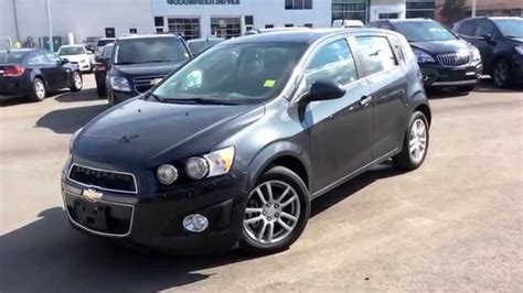 Chevy Sonic Hatchback Review by New 2014 Chevrolet Sonic Lt Hatchback Review 140129