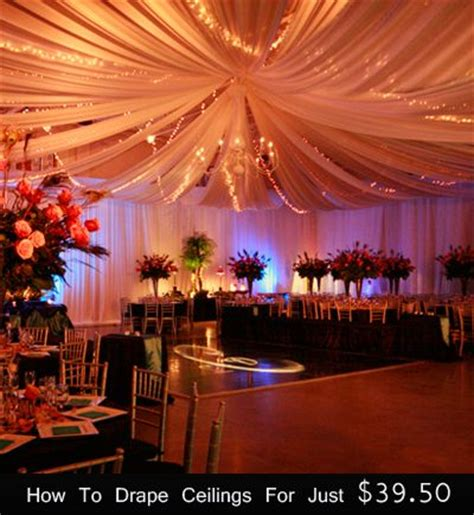 How To Hang Ceiling Drapes For Events - 1000 images about ceiling drapes on