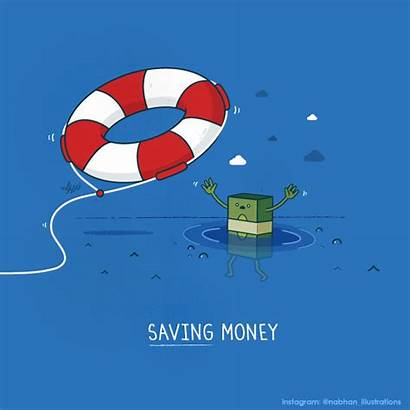 Puns Visual Clever Money Saving Objects Nabhan