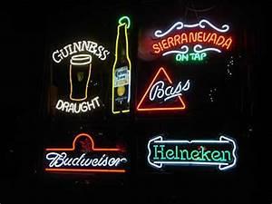 Image Gallery neon beer signs