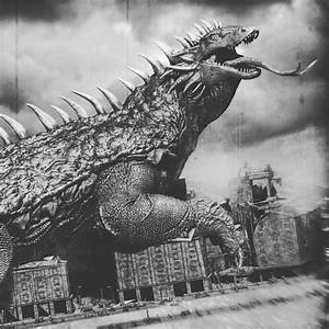 VARAN concept for the GODZILLA: Heritage project. # ...