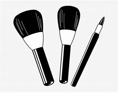 Makeup Clip Clipart Brush Pngkey