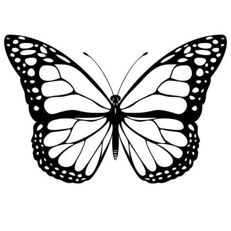 printable butterfly coloring pages  kids butterfly butterfly coloring page