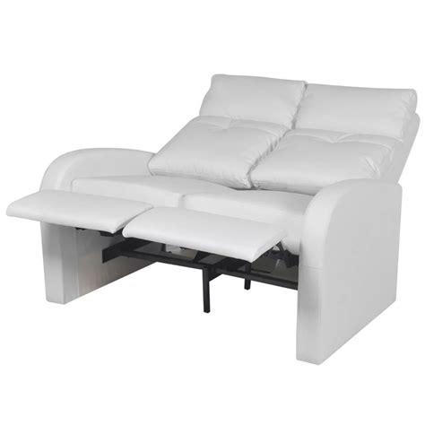 canapé inclinable acheter canapé inclinable cinéma maison 2 sièges en cuir