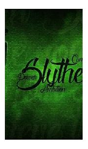 Slytherin Logo With Words In Green Background HD Slytherin ...