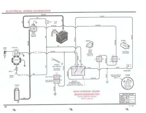 Brigg And Stratton 11 Hp Wiring Diagram by Briggs Engine Wiring Diagram