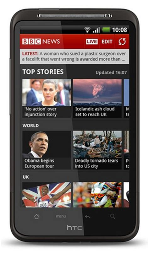 android news app news app comes to android devices