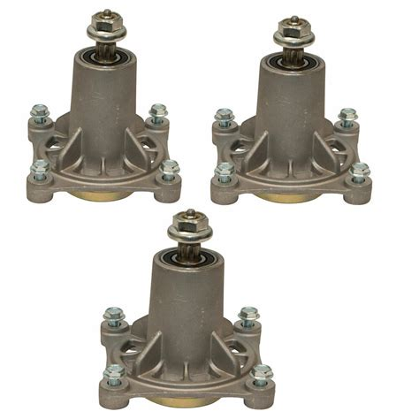 deck spindle assembly 3pc 54in cut mower ayp craftsman