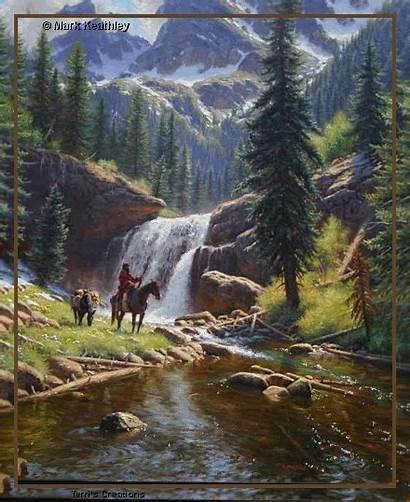 Landscape Native Animated American Nature Landscapes Mountain