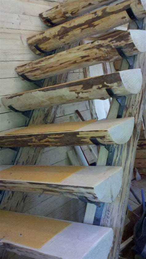 diy log ideas  rustic decor   home