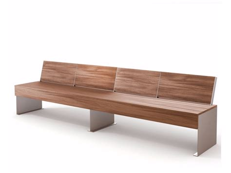 Zen Bench by Zen Bench With Back By Lab23